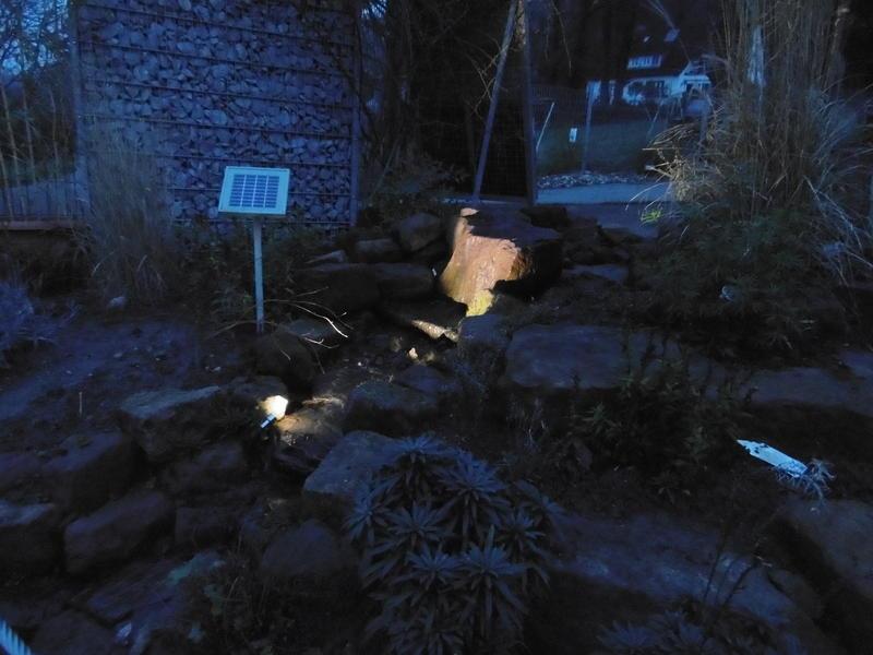 Gartenbeleuchtung in Karlsruhe von Gartenbau Danner